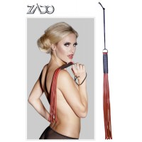 ZADO - RED LEATHER WHIP