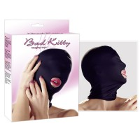 BAD KITTY HEAD MASK - BLACK