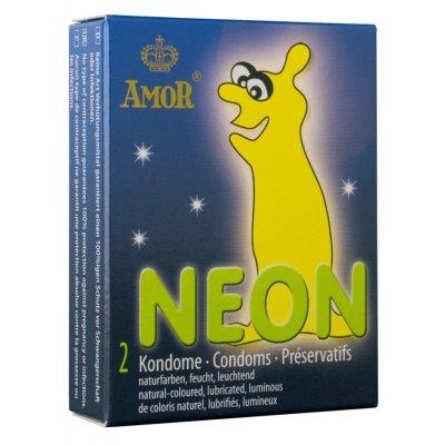 Προφυλακτικα - AMOR NEON - 2pck