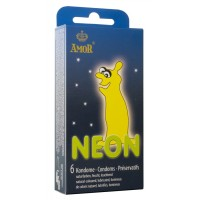 Προφυλακτικα - AMOR NEON - 6pck