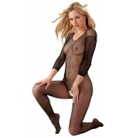 LONG SLEEVE CATSUIT - BLACK
