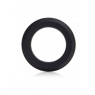 CAESAR Δαχτυλίδι Σιλικόνης Μαύρο