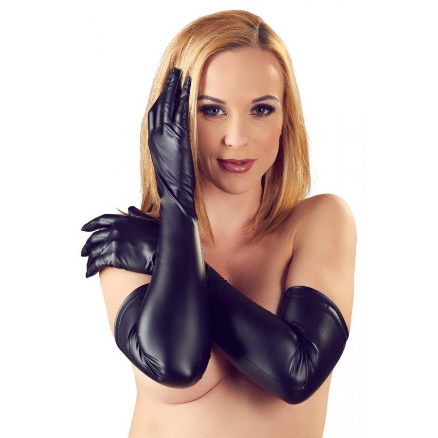 Γάντια Μακριά - Matte | Aroma Sex Shop