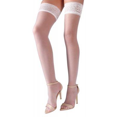 Κάλτσες Λευκές με Σιλικόνη   Aroma Sex Shop