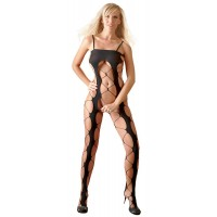 CROTCHLESS CATSUIT - BLACK