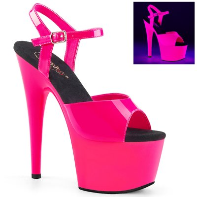 PLEASER SHOES | ADORE 709 PINK UV
