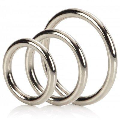 Δακτυλιοι Πεους - SILVER RINGS SET OF 3