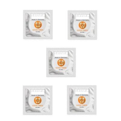 Προφυλακτικά Επιβραδυντικά - 5 τεμ Secura Good Timer