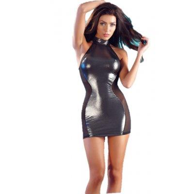 BLACK-SILVER SEXY DRESS