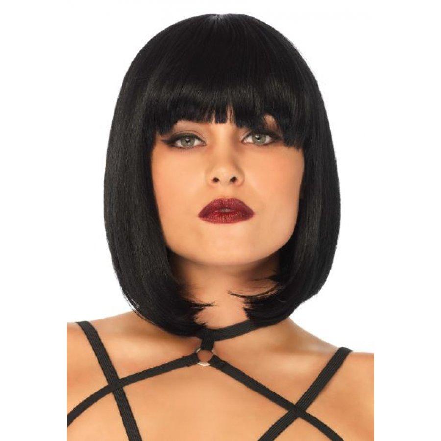 Περούκα - Μαύρο Καρέ