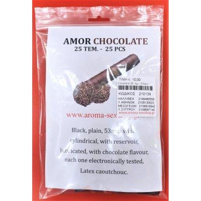 25 Προφυλακτικά Σοκολάτα - Amor Condoms