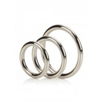 SILVER RINGS SET OF 3