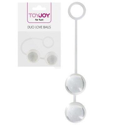 Κολπικες Μπαλες - Duo love balls Clear